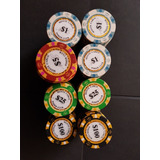 200 Fichas Pro 14g Monte Carlo Poker Club