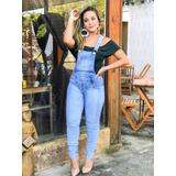 Jardineira Jeans Ml 10