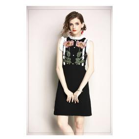 Vestido Clásico Stilo Gucci 2 Dos Flores Envio Inc