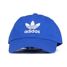 Boné adidas Originals Trefoil Classic Aba Curva Azul - Único c299f3b4f7350