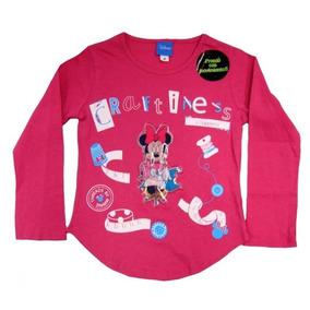 7e6e34e748c64 3 Playeras Infantil Minnie Mouse Con Luces En Movimiento Ori