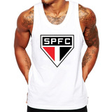 Camiseta Regata São Paulo Spfc Futebol Time Masculina a873ad82ef1