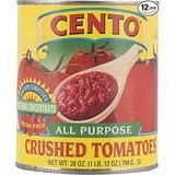 Cento Todo En Uno Tomates Chunky Aplastada En Puré, Latas De