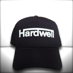 2924e1c2c1a8d Boné Hardwell Todo Preto Trucker Frete Grátis · R  65 99