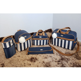 Kit Bolsa Para Bebê Maternidade Menina/menino Super Luxo