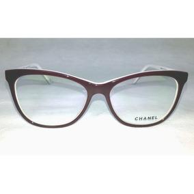 Armação Chanel Oculos De Grau Para Grau Ch3341 Acetato d1d6eba61d