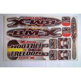 Adesivo Bike Bmx Freedom
