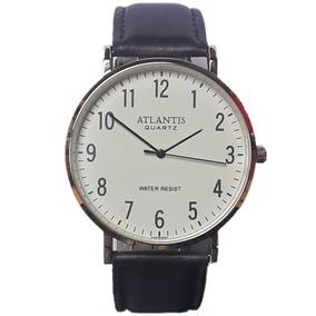 9349891e60b Relogio Atlantis Pulseira Couro - Relógios De Pulso no Mercado Livre ...