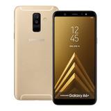 Samsung Galaxy A6 + Plus A605gn/l Ss Oro 32gb Solo Sim 6-inc