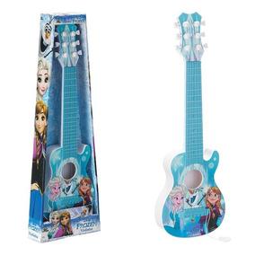 Mini Violão Frozen Brinquedo Infantil Menina Presente