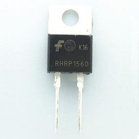5 Pçs Diodo Rhrp1560 - Rhrp 1560 - 600v 15a To220ac - Novo