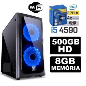 Pc Gamer Core I5 4590 3.7ghz 8gb Hd 500 Wifi 500w Gtx-1050