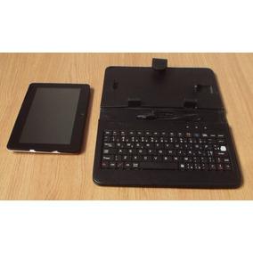 Tablet Phaser Kinno Plus S (defeito) Com Teclado E Estojo