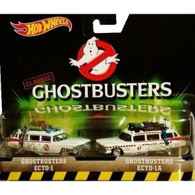 Hot Wheels 2 Pack - Caça Fantasmas - Ghostbuster Ecto 1 E 1a