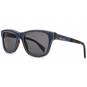55481040d8 Diesel Denim Wayfarer Gafas De Sol En Azul Denim Dl N 52