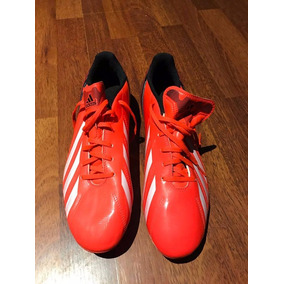 buy online f8a90 715d3 Botines adidas F30 Naranja Y Negro