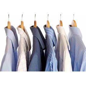 Lote 30 Camisas Sociais Masculinas Usadas Tamanhos P E M