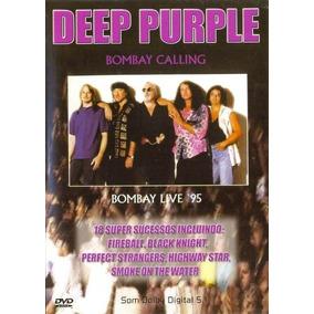 Dvd Deep Purple Bombay Calling 95 Ao Vivo Original