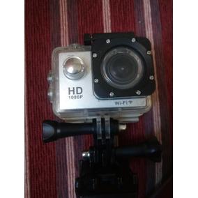 Câmera Action Cam Com Wifi, Filma Em 1080 E Full Hd