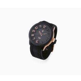 Reloj Negro-bronce Marca Nice