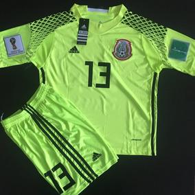 Impresionante Uniform Limon Niño Portero Mexico Ochoa Parche 8ae6a1e069b76