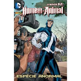 Homem Animal Novos 52 Espécie Anormal