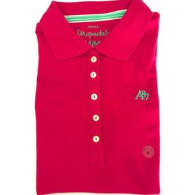 Aeropostale Camisa Polo Feminina Pink Rosa M 2827865c18362