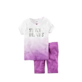 Pijama Morada Carters Sweet Dreams 24 Meses