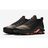 Tenis Nike Mercurial Tn Negros Con Naranja Hombre Zapatillas abf922c20dd78