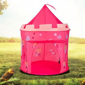 Barraca Infantil Cabana Castelo Princesas Boneca