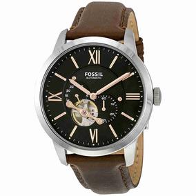 87da93604d77 Reloj Fossil Para Hombre Townsman Mecánico Correa De Cuero