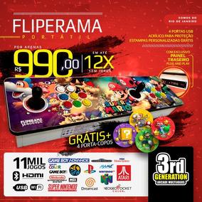 Fliperama Portátil 11.500 Jogos - (zero Delay) + Brinde