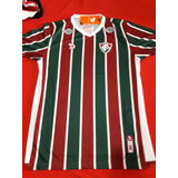 Camisa Oficial Fluminense Dryworld Juvenil 14 Anosfrete R 10 707b3cd540a67