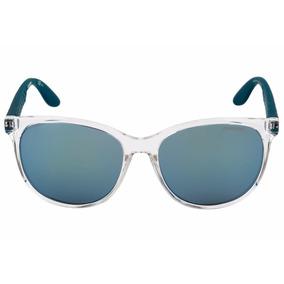 21a8af9099e5e Óculos De Sol Carrera 5001 - Cristal E Azul - A2g 56t7