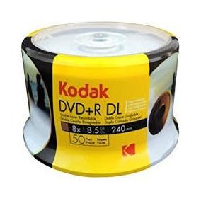 50 Dvd 8,5gb Kodak Umedisc Printable Grava Xbox 360