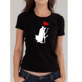 Oferta Playera Dama Love Batman Vs Catwoman Envio Gratis 75880e54b5840
