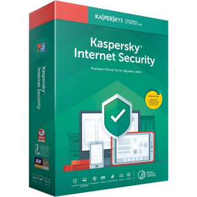Kaspersky Internet Security 2019 1 Pc 1 Ano Original !