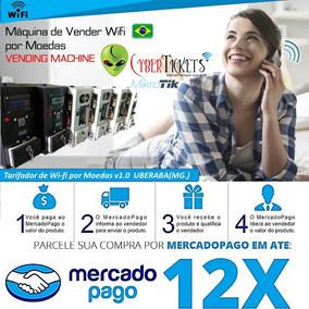 Maquina De Wifi Por Moedas Adsl/3g/4g Check In Facebook