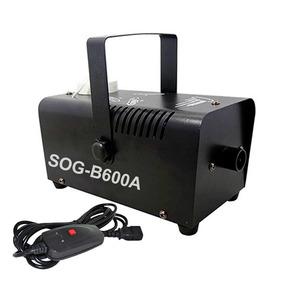 Maquina De Fumaça Sog 600w Com Controle Remoto