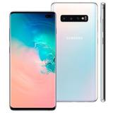 Samsung Galaxy S10+ Plus 128gb Branco Lacrado Nota Fiscal