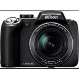 Cámara Digital Nikon Coolpix P80, 10.1 Mp Con Zoom Óptico