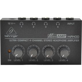 Amplificador De Fones Behringer Ha400 Power Play New Model