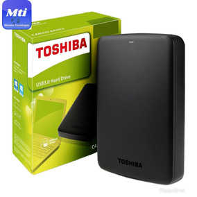 Hd Externo 1tb Toshiba Canvio Basics Portatil 1 Tera Usb 3.0