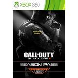 Season Pass De Cod Black Ops 2 Solo Xbox 360 No Pagar Envío