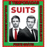 Suits Serie (homens De Terno) 1 A 8 Temporada + Frete Grátis