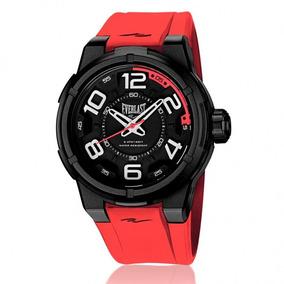 Relógio Everlast Masculino Ref: E691 Big Case Esportivo