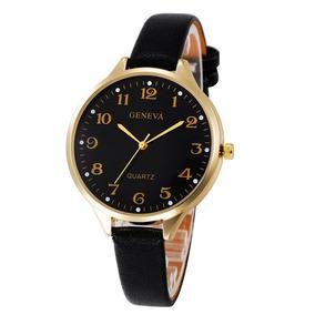 ccf8b58994e Relogio Geneva Masculino Dourado - Relógios De Pulso no Mercado ...