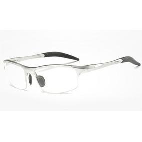 218abdf3c5742 Oculos Grau Retangular Prata De Sol - Óculos no Mercado Livre Brasil