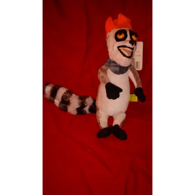 Peluche Rey Julien Madagascar Musica I Like The Move It