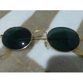 Oculos Rayban Antigo, Raro E Original, Lentes Bl Em Cristal da26fc31c2